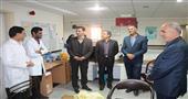 تبريك مهندس طلايي به پرستاران به مناسبت ميلاد حضرت زينب (س) و روز پرستار (گزارش تصويري)